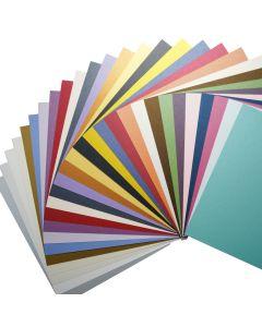 Stardream Metallics 12-x-12 Variety Pack 105lb Cardstock (28 colors / 3 each) - 84 PK