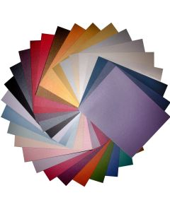 Colorful Stardream Metallic Cardstock Variety Pack (28 colors / 3 each) - 84 PK