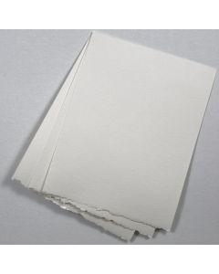 Deckled Edge Paper - Color compare