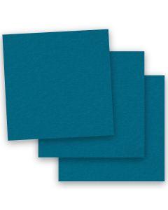 BASIS COLORS - 12 x 12 CARDSTOCK PAPER - Teal - 80LB COVER - 50 PK