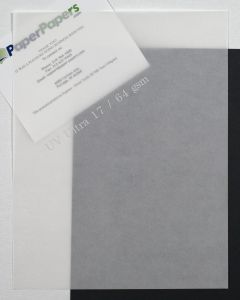 Neenah UV ULTRA II Translucent (Vellum) WHITE 8.5 x 11 Paper - 17lb Text - 50 PK