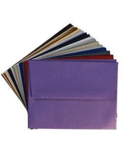 A2 Envelope Variety Pack - Shine Shimmer Metallic - 15 Colors / 3 Each 45 PK