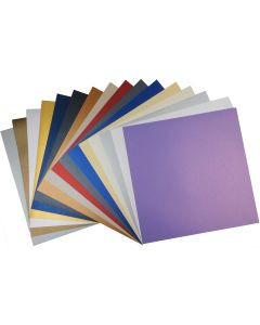 Shine 12-x-12 Cardstock Variety Pack (18 colors / 3 each) - 54 PK