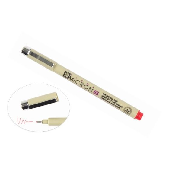 [Clearance] Micron 05 PEN 0.45MM - RED