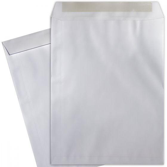 9-1/2-x-12-1/2 Catalog Envelopes - 28lb WHITE WOVE - (9.5 x 12.5) - 500 PK [DFS-48]