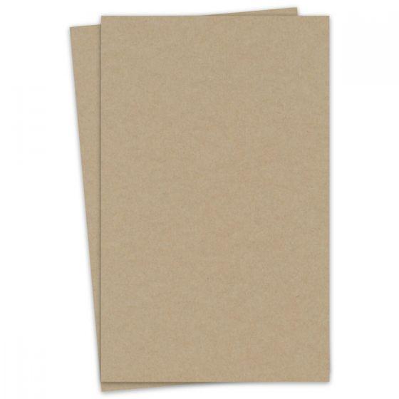 Light Rustic Kraft - 12X18 Cardstock Paper - 111lb Cover (300gsm) - 100 PK [DFS-48]