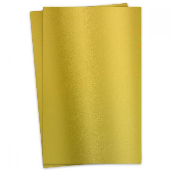 FAV Shimmer Premium Gold - 11 x 17 Card Stock Paper - 92lb Cover (250gsm) - 100 PK