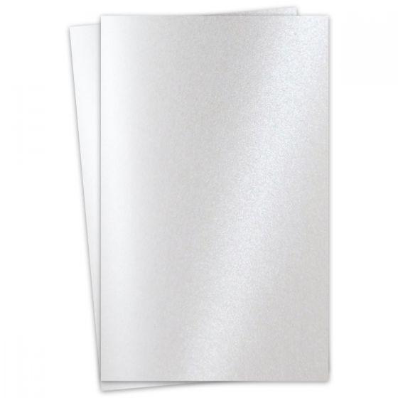 FAV Shimmer Pure Snow White - 11 x 17 Paper - 81lb Text (120gsm) - 200 PK