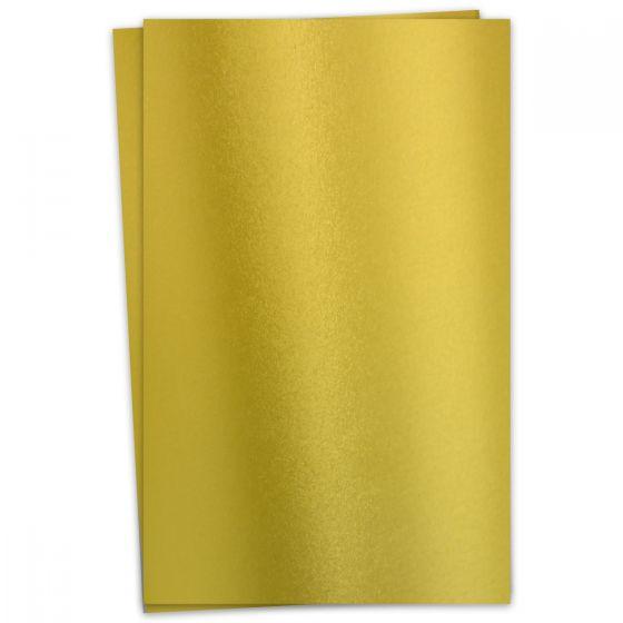 FAV Shimmer Premium Gold - 12 x 18 Card Stock Paper - 92lb Cover (250gsm) - 100 PK