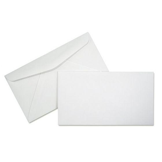 #6-3/4 Envelopes (3-5/8x6-1/2) - 24lb White Wove (Diagonal Seam) - 5000 PK [DFS-48]