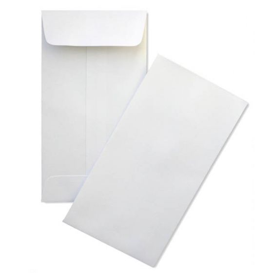 #7 COIN Envelopes - 24lb WHITE WOVE - (3.5 x 6.5) - 2500 box [DFS-48]