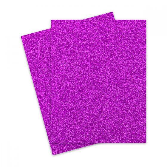 Glitter Paper - Glitter PUNCH (1-Sided) 8.5X11 Letter Size - 10 PK [DFS]