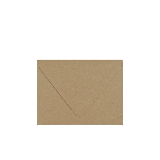 Light Rustic Kraft - A2 Euro Flap Envelopes 32/81lb Text (120gsm) - 1000 PK