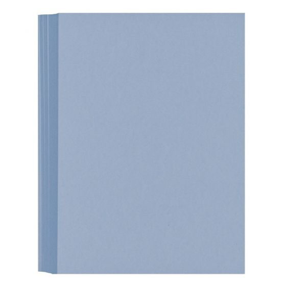 LIGHT BLUE 80C (5X7) A7 Flat Cards - 50 pack [DFS]