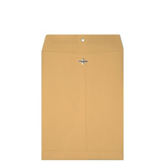 Clasp 6-1/2-X-9-1/2 Catalog Envelopes - 28lb Brown Kraft - (6.5 x 9.5) - 500 PK