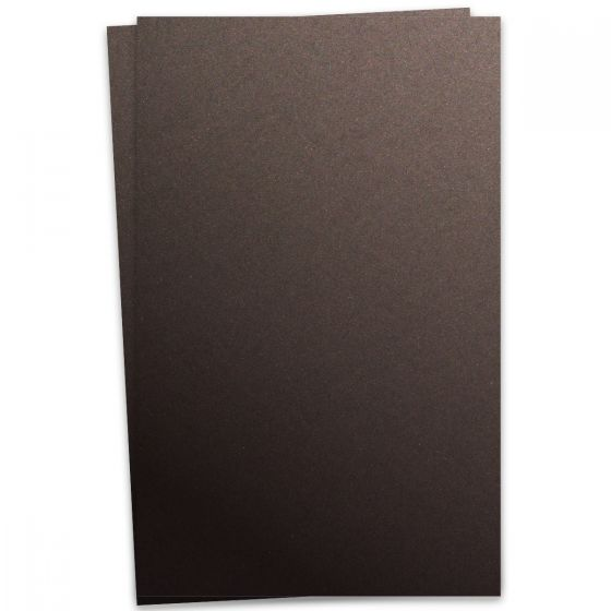 Curious Metallic - CHOCOLATE 12X18 Card Stock Paper 111lb Cover - 100 PK