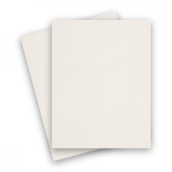 Curious Metallic - CRYOGEN WHITE 8.5X11 Letter Size Card Stock Paper 89lb Cover - 250 PK [DFS-48]