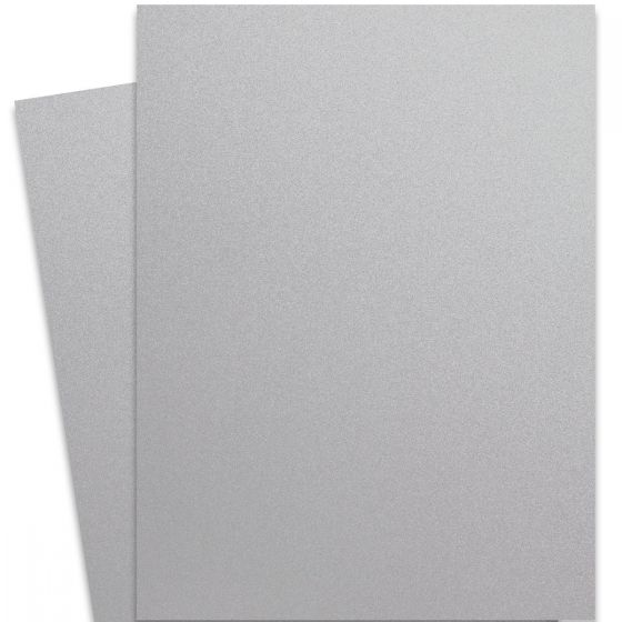 Curious Metallic - GALVANISED 27X39 Full Size Card Stock Paper 111lb Cover - 100 PK