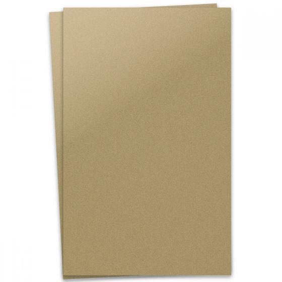 Curious Metallic - GOLD LEAF 12X18 Card Stock Paper 92lb Cover - 100 PK [DFS-48]