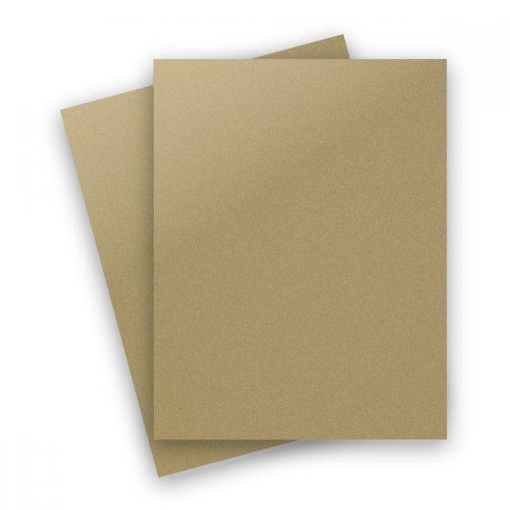 Curious Metallic - GOLD LEAF 8.5X11 Letter Size Paper 32/80lb Text - 50 PK [DFS]
