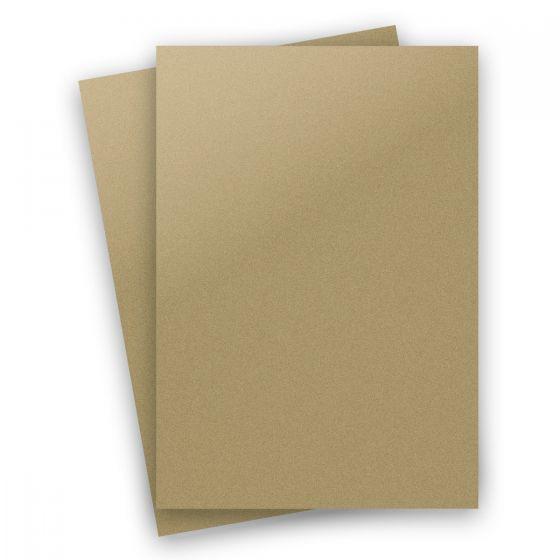 Curious Metallic - GOLD LEAF 8.5X14 Legal Size Card Stock Paper 92lb Cover - 150 PK [DFS-48]