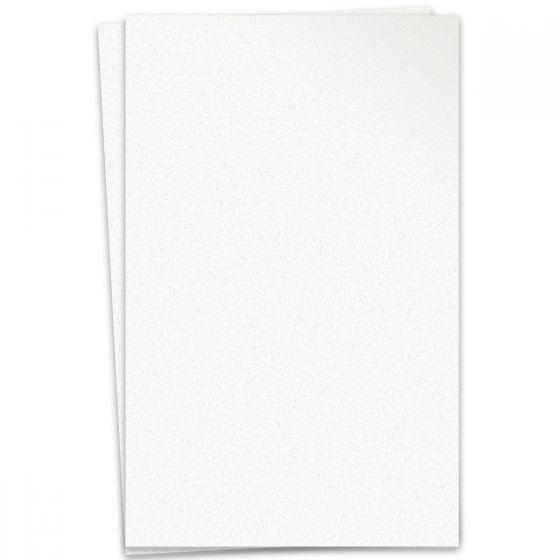 Curious Metallic - ICE SILVER 12X18 Card Stock Paper 111lb Cover - 100 PK