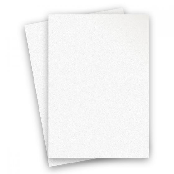 Curious Metallic - ICE SILVER 8.5X14 Legal Size Card Stock Paper 111lb Cover - 150 PK [DFS-48]