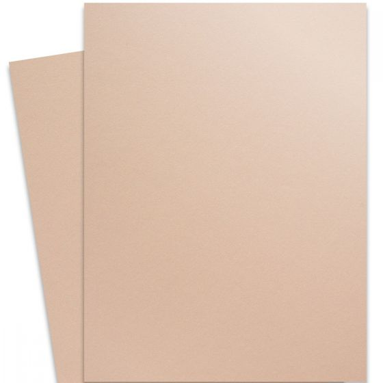 Curious Metallic - NUDE 27X39 Full Size Card Stock Paper 111lb Cover - 100 PK