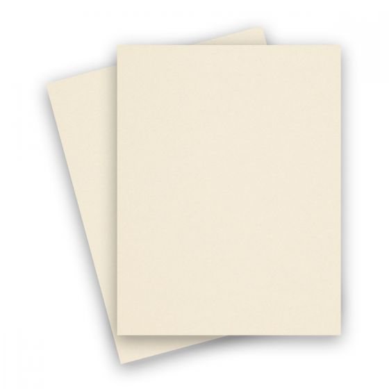 Curious Metallic - POISON IVORY 8.5X11 Letter Size Card Stock Paper 89lb Cover - 25 PK