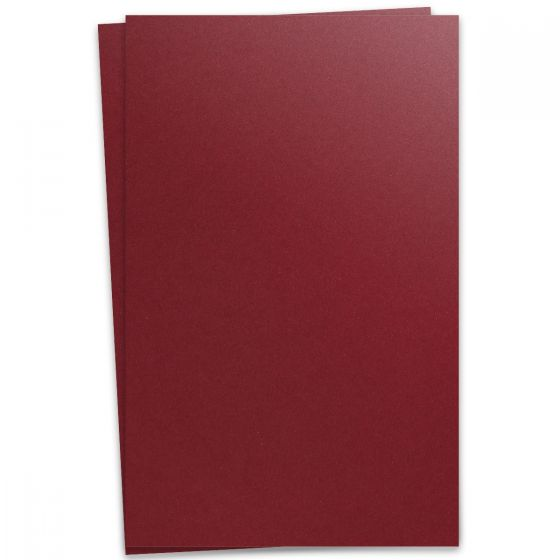 Curious Metallic - RED LACQUER 12X18 Card Stock Paper 111lb Cover - 100 PK [DFS-48]