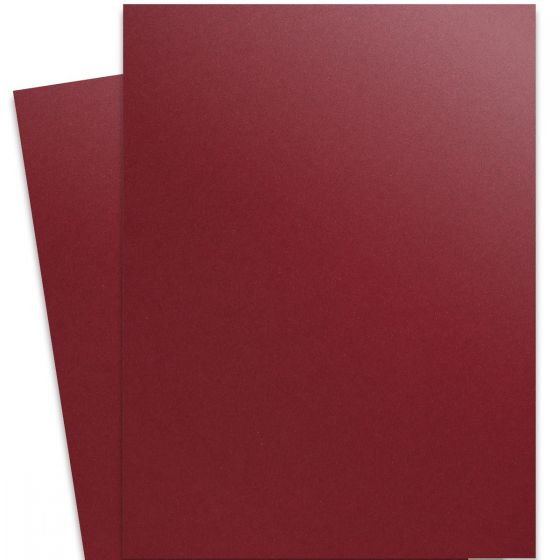 Curious Metallic - RED LACQUER 27X39 Full Size Paper 32/80lb Text - 250 PK