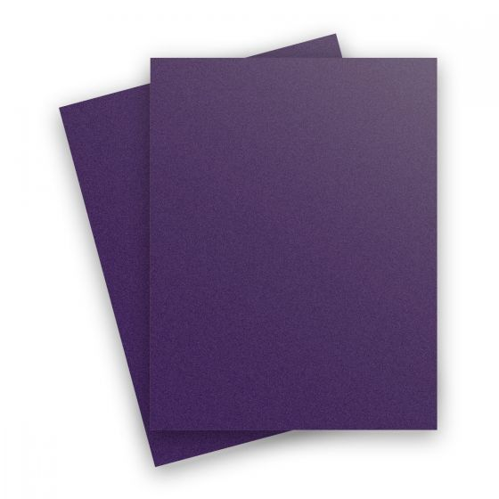 Curious Metallic - VIOLETTE 8.5X11 Letter Size Card Stock Paper 111lb Cover - 25 PK