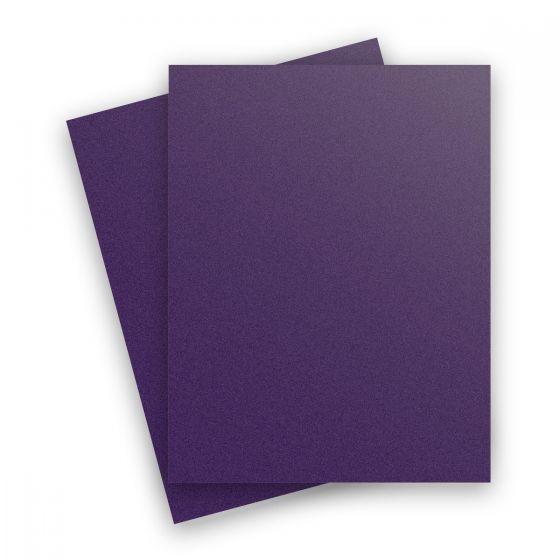 Curious Metallic - VIOLETTE 8.5X11 Letter Size Paper 32/80lb Text - 50 PK
