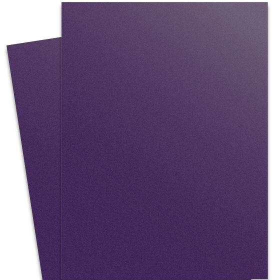 Curious Metallic - VIOLETTE 27X39 Full Size Card Stock Paper 111lb Cover - 100 PK