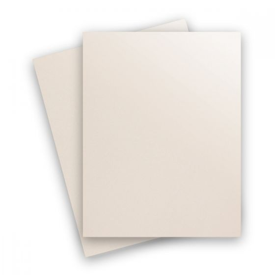 Curious Metallic - VIRTUAL PEARL 8.5X11 Letter Size Card Stock Paper 89lb Cover - 250 PK [DFS-48]