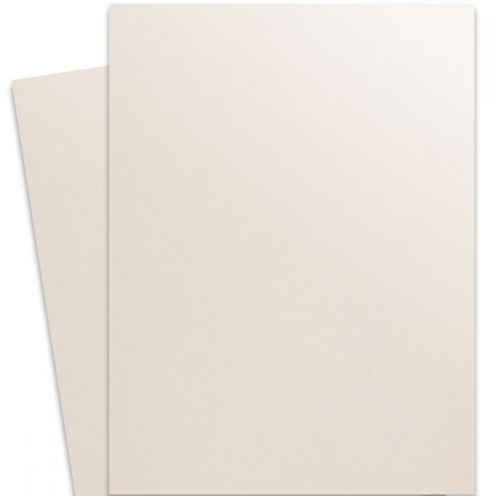 Curious Metallic - VIRTUAL PEARL 27X39 Full Size Card Stock Paper 89lb Cover