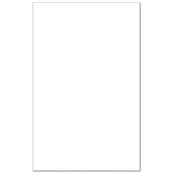 Cougar WHITE Digital Smooth - 11X17 Card Stock Paper - 80LB COVER - 250 PK