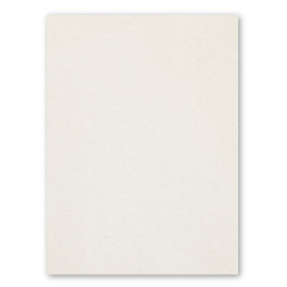 [Clearance] Crane 8.5 x 11 Card Stock Paper - ECRU - 100% Cotton - 268 Cover - 100 PK
