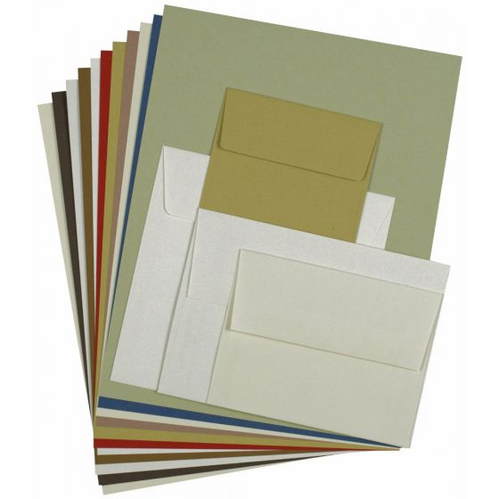 Crush Paper and envelopes