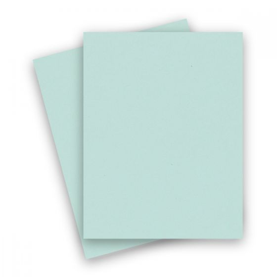 Extract - AQUA 8-1/2-x-11 Letter Size Cardstock Paper 380 GSM (140lb Cover) - 10 PK