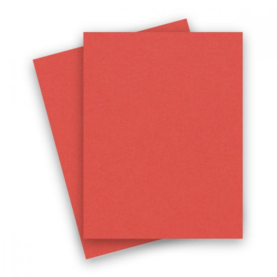 Extract - CORAL 8-1/2-x-11 Letter Size Cardstock Paper 380 GSM (140lb Cover) - 10 PK