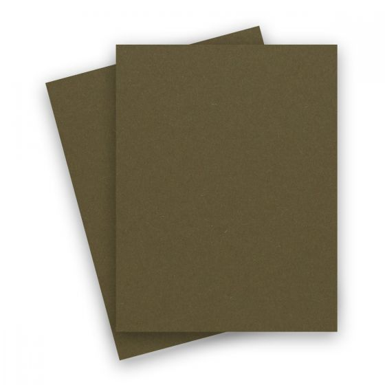 Extract - KHAKI 8-1/2-x-11 Letter Size Cardstock Paper 380 GSM (140lb Cover) - 10 PK