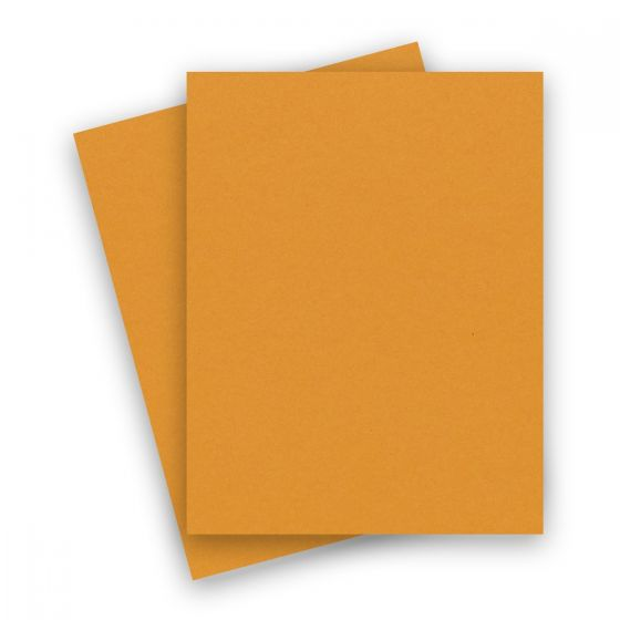 Extract - MUSTARD 8-1/2-x-11 Letter Cardstock Paper 380 GSM (140lb Cover) - 10 PK