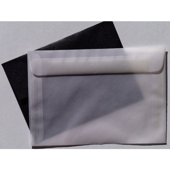 [Clearance] White Translucent (Vellum) - 5.25-x-7.5 ENVELOPES - 25 PK