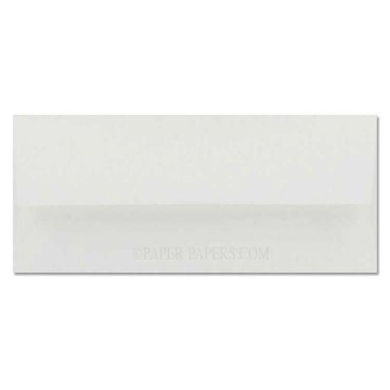 Cranes Crest (Wove) - NO. 10 Envelopes (Square Flap) - 100% Cotton - Fluorescent White - 500 PK