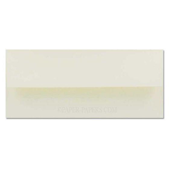 Cranes Crest (Wove) - NO. 10 Envelopes (Square Flap) - 100% Cotton - Natural White - 500 PK