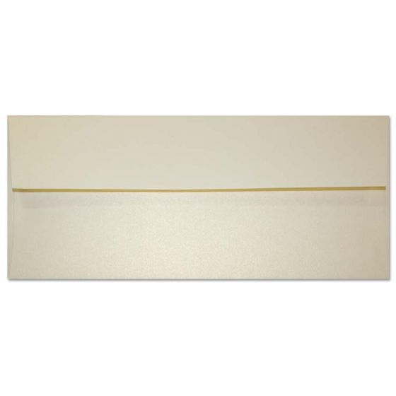 [Clearance] Curious Metallic - NO. 10 ENVELOPES (Square Flap) - WHITE GOLD - 50 PK
