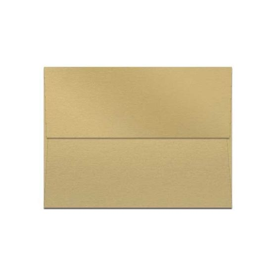 Curious Metallic ENVELOPES - A2 Envelopes - GOLD LEAF - 250 PK [DFS-48]