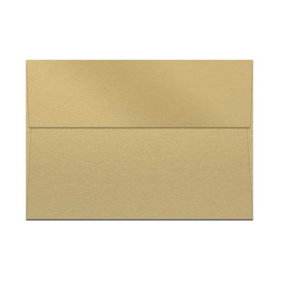 Curious Metallic ENVELOPES - A7 Envelopes - GOLD LEAF - 250 PK [DFS-48]