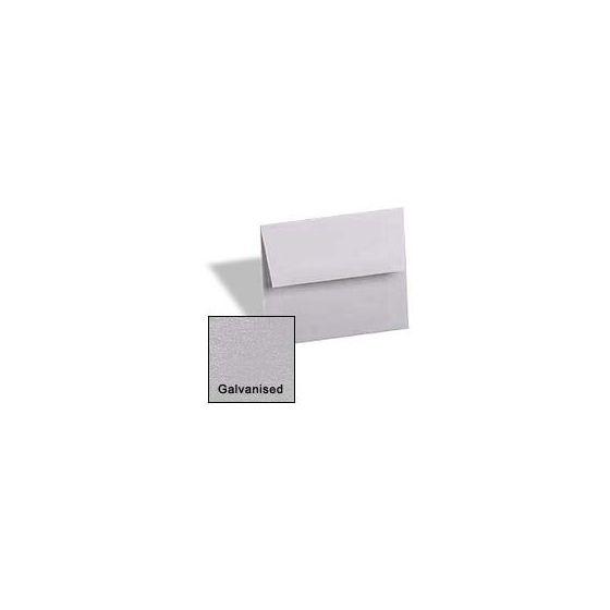 Curious Metallic ENVELOPES - A6 Envelopes - GALVANISED - 50 PK [DFS]